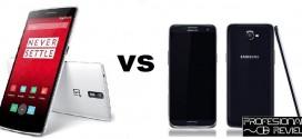 Comparativa: Oneplus One vs Samsung Galaxy S5