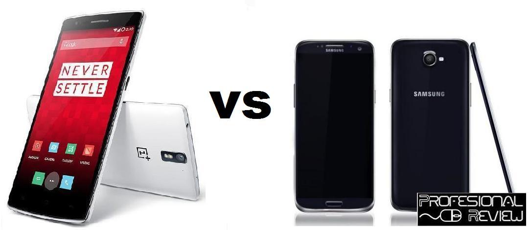 ONE PLUS ONE VS GALAXY S5