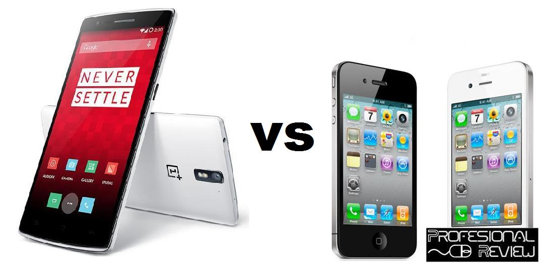 ONE PLUS ONE VS IPHONE 5