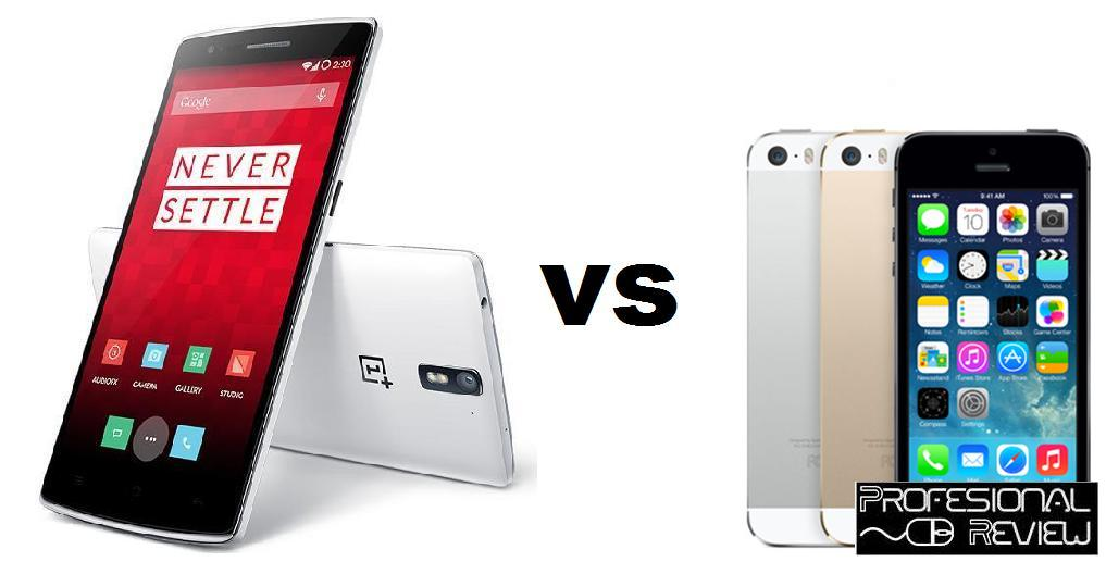 ONE PLUS ONE VS IPHONE 5S