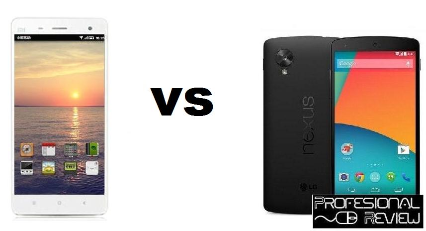 XIAOMI MI 4 VS GOOGLE NEXUS 5