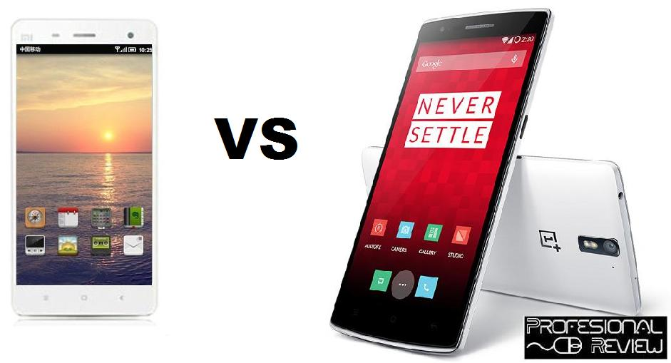 XIAOMI MI 4 VS ONEPLUS ONE
