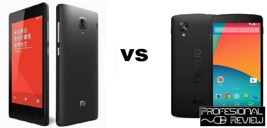 XIAOMI RED RICE 1S VS LG NEXUS 5