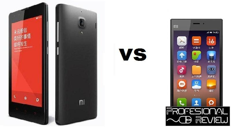 XIAOMI RED RICE 1S VS XIAOMI MI 3