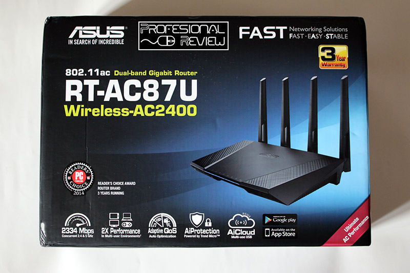 Photo of Review: Asus RT-AC87U