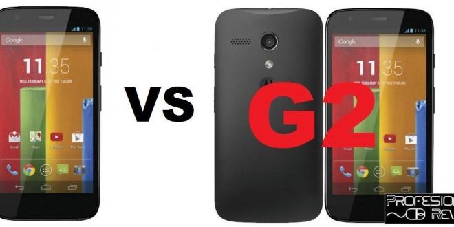 Comparativa: Motorola Moto G vs Motorola Moto G2