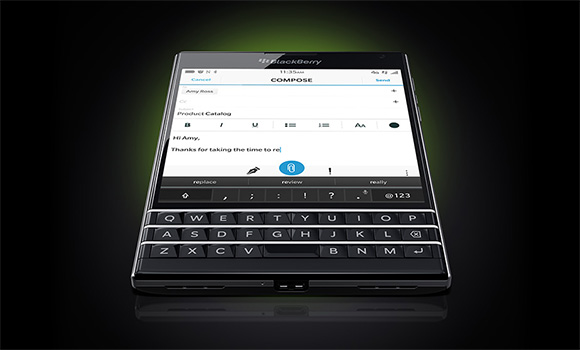 Photo of BlackBerry Passport