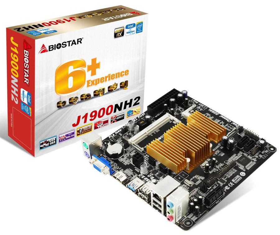 Photo of Biostar J1900NH2, Mini ITX con Intel Bay Trail