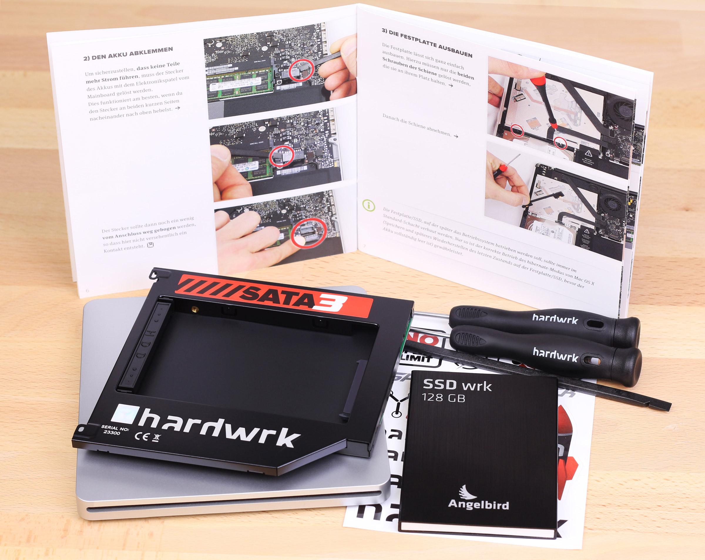 Photo of Algebird lanza un Kit para instalar un SSD en los Macbook pro