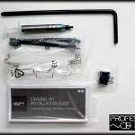 Adaptadores, pasta térmica y clips