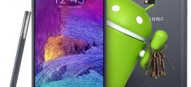 Samsung actualiza el Note 4 para mejorar su autonomía