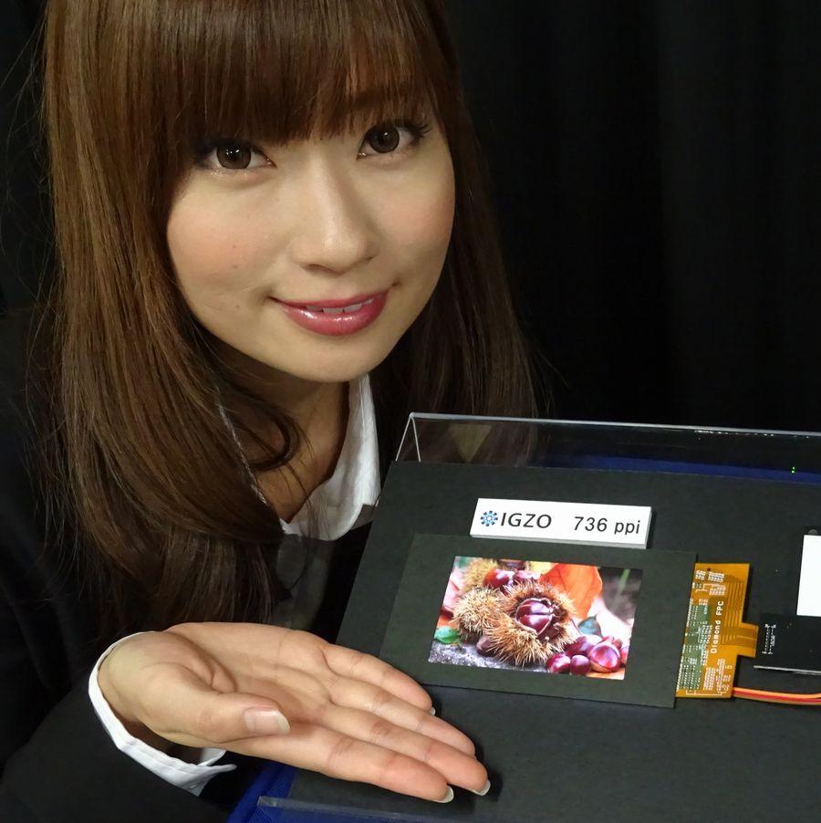 Photo of Sharp tiene una pantalla con 736 ppi