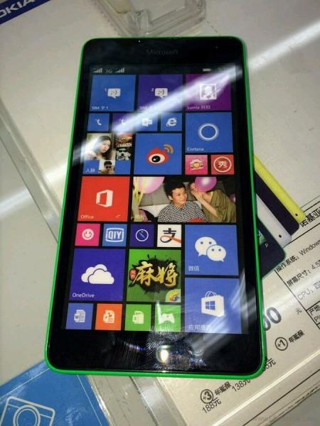Photo of Lumia 535, el primero de Microsoft