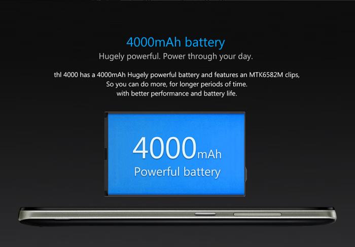 thl4000-bateria