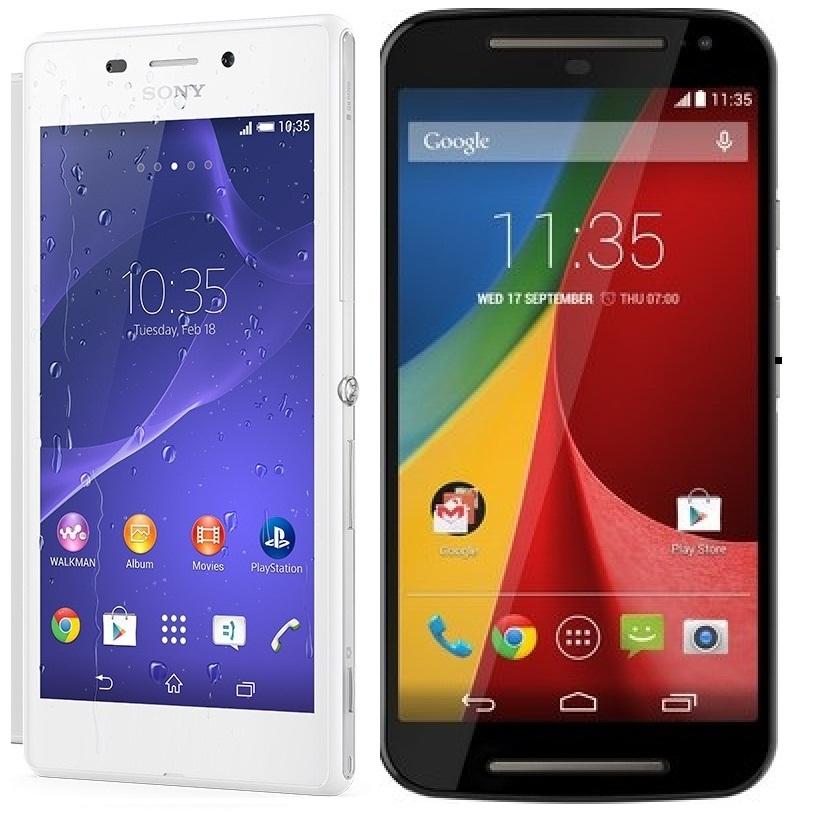 Photo of Comparativa: Sony Xperia M2 vs Motorola Moto G 2014