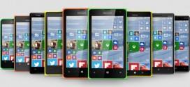 Microsoft dice que la mayoría de smartphones Lumia recibirán Windows 10