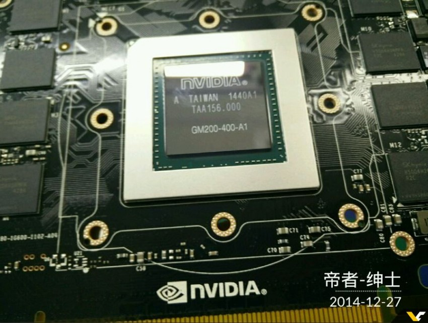 Photo of Nuevos detalles del chip Nvidia GM200