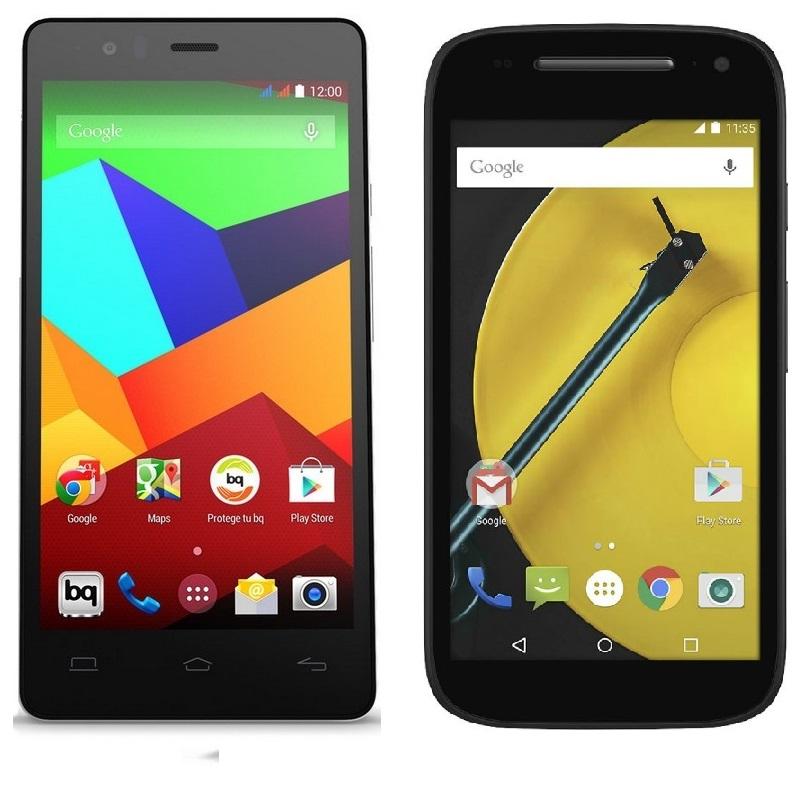 Photo of Comparativa: BQ Aquaris E5 4G vs Motorola Moto E 2015