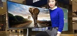 Samsung anuncia televisores de pantalla curva con precios bajos