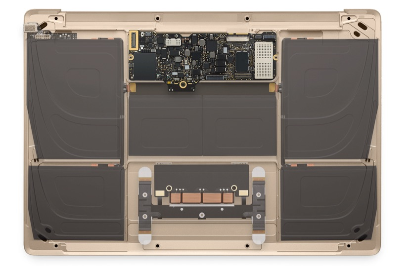 Photo of Interior del nuevo Macbook 12″, que no os engañen