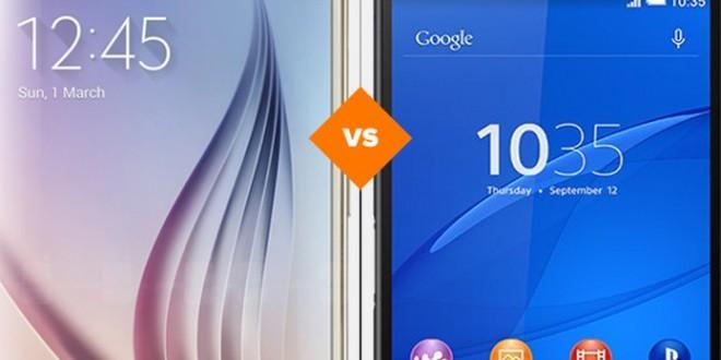 Galaxy S6 vs Xperia Z3