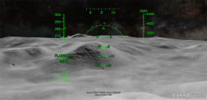 Google Earth la luna
