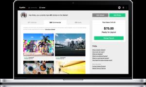 Vender fotografías online con EyeEm Market