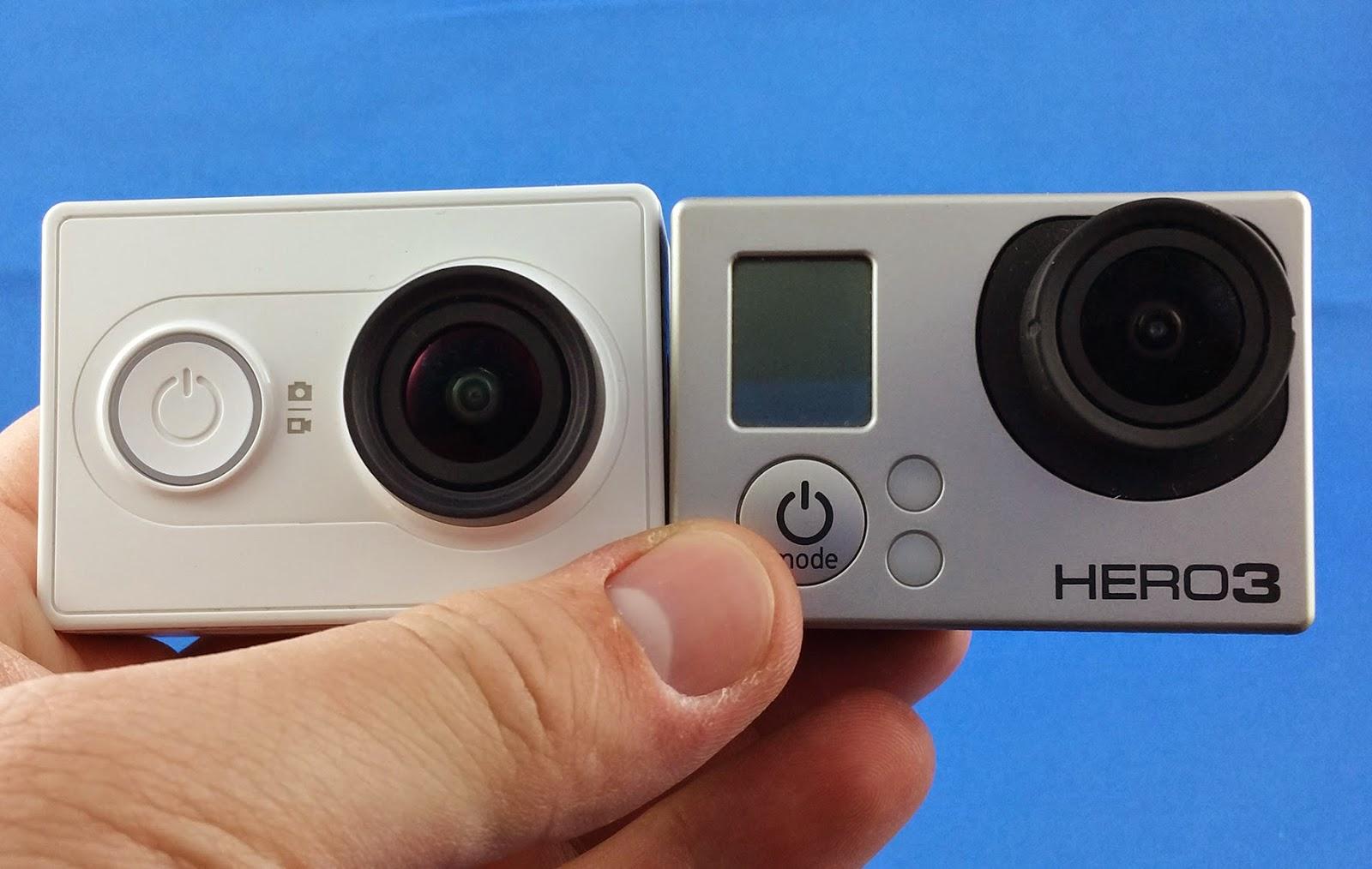 Xiaomi Yi Sport Vs GoPro Hero