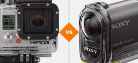 GoPro Hero 3+ Black vs Sony Action Cam