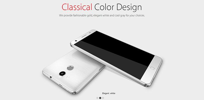 Elephone P7000-blanco