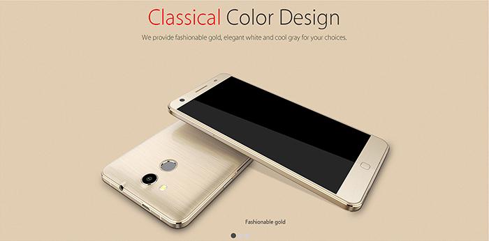 Elephone P7000-dorado