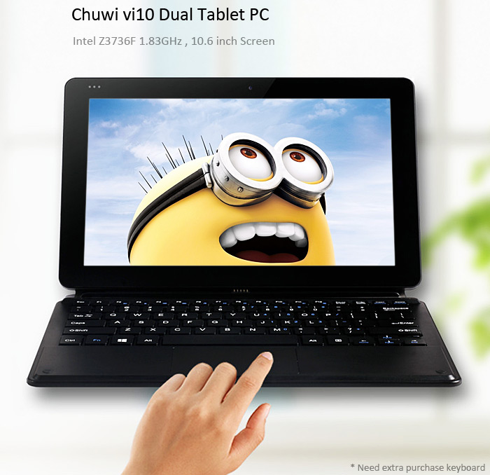 Photo of Chuwi Vi10 tableta de 10 pulgadas con sistema operativo dual (Android + Windows 8.1)