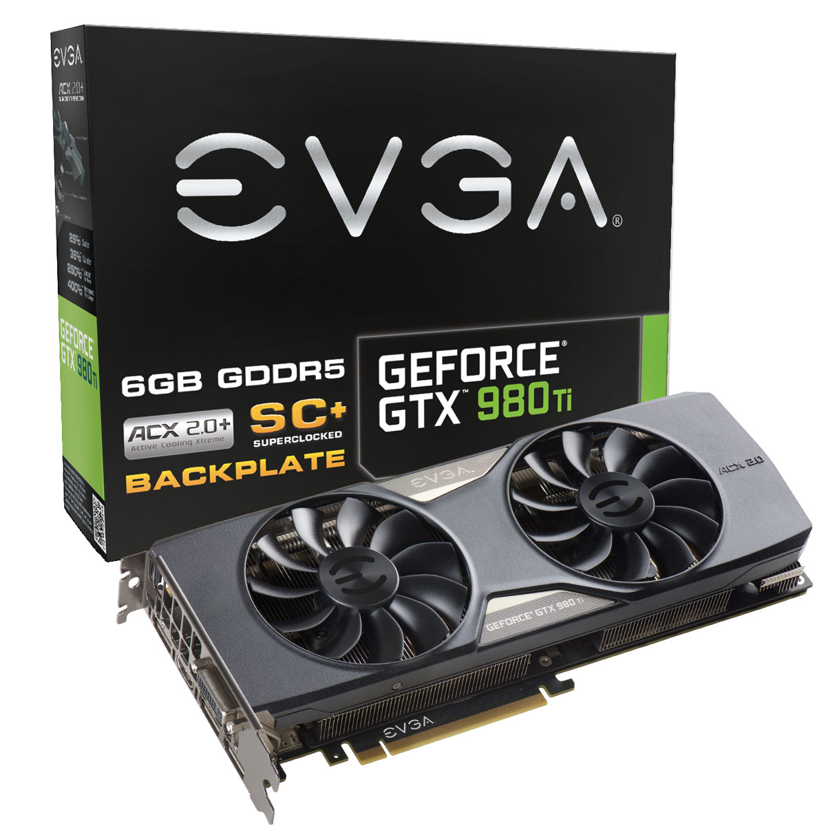Photo of Imagenes de las GeForce GTX 980Ti personalizadas de EVGA