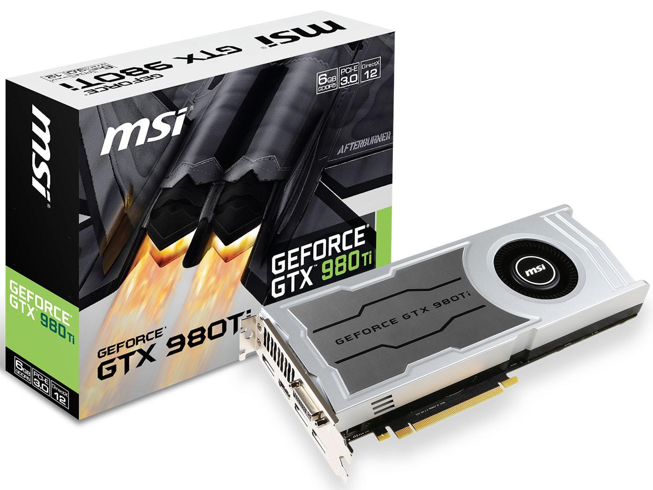 Photo of MSI presenta la GeForce GTX 980 Ti V1