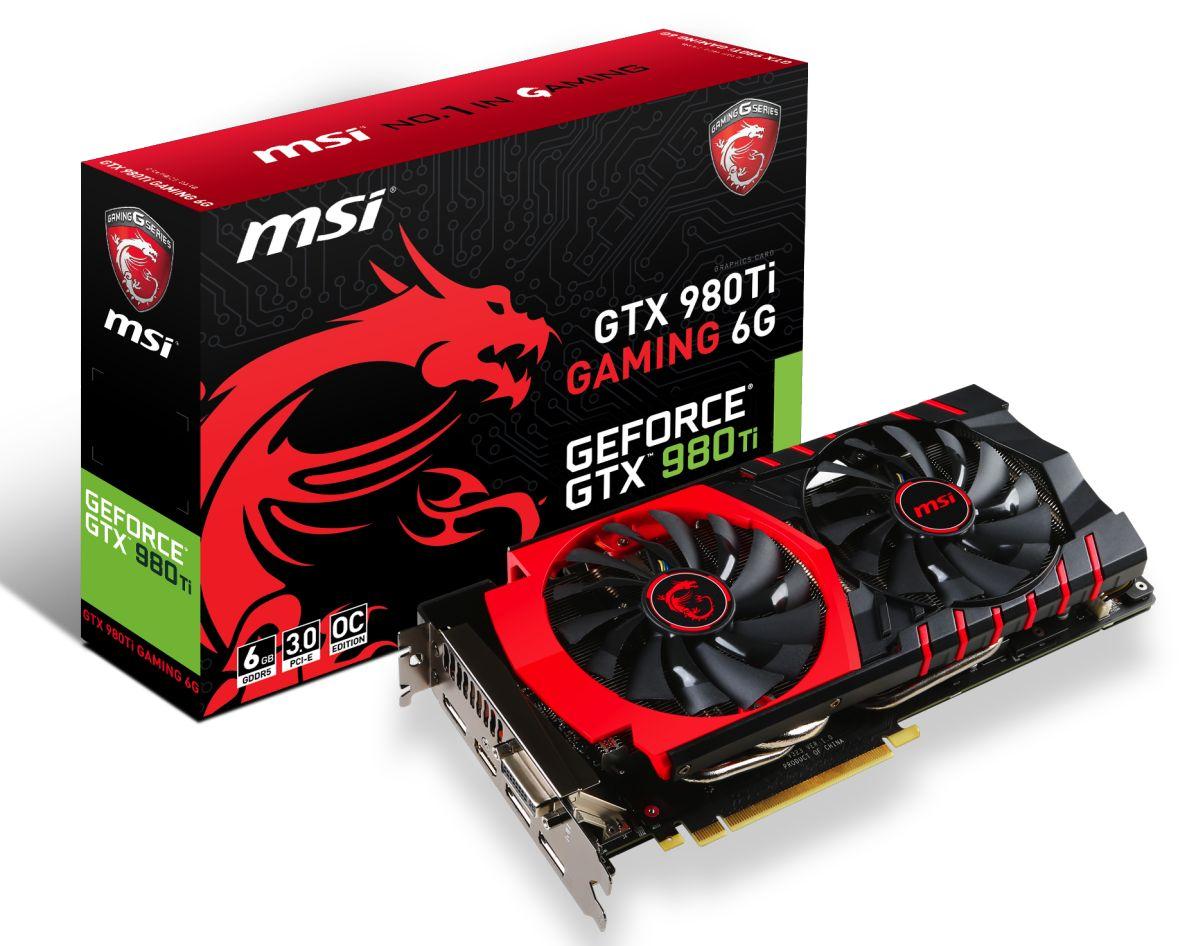 Photo of MSI anuncia su GeForce GTX 980Ti GAMING 6G
