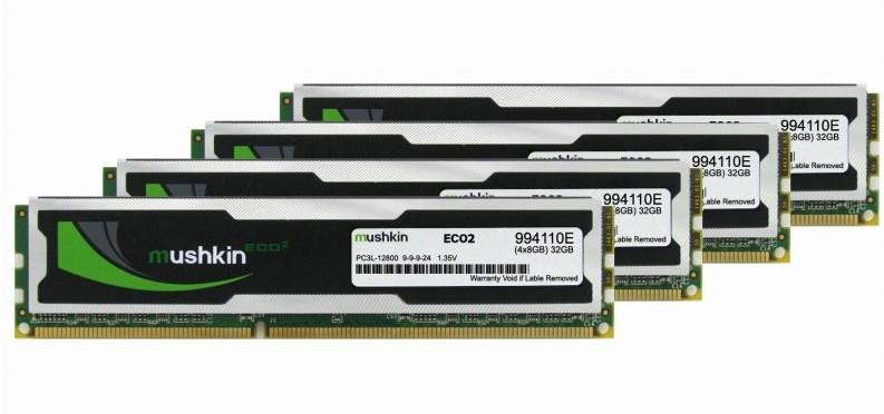 Photo of Mushkin Introduce los módulos de memoria ECO2 DDR3L-1600
