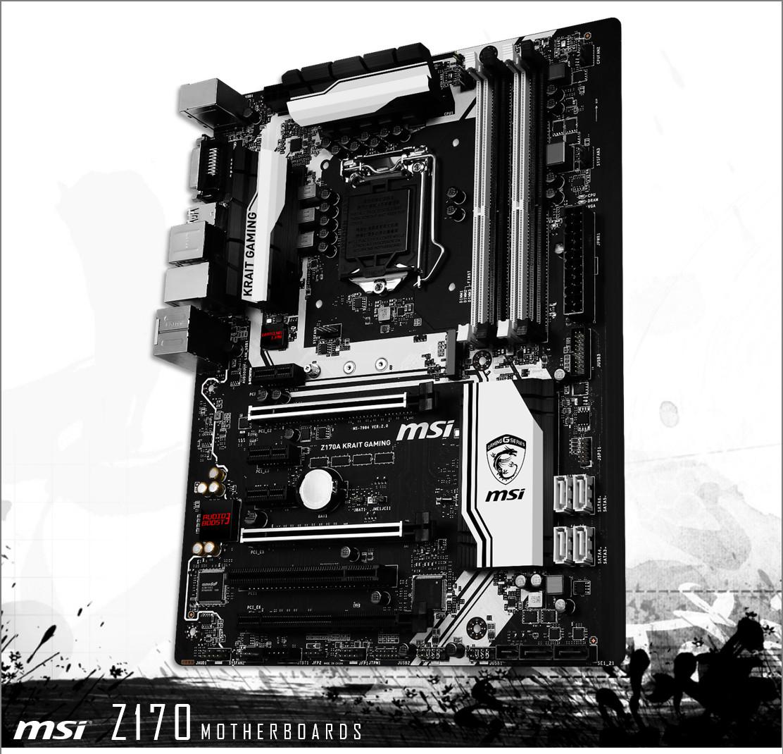 Photo of MSI muestra la placa base Z170 Krait Gaming