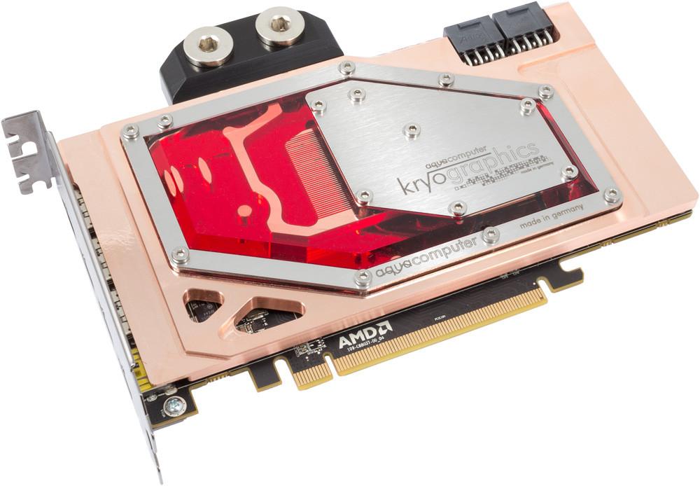 Photo of Aqua Computer muestra su bloque de agua para la Radeon R9 Fury X