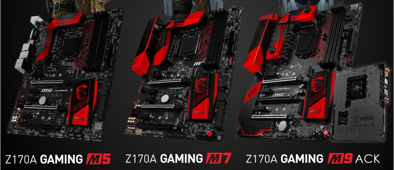 Photo of Imagen de la serie MSI Z170 Gaming M