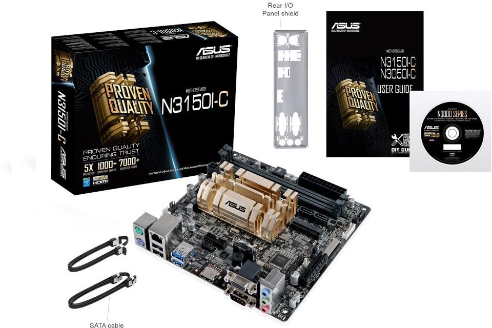 Photo of Asus introduce las placas base N3150-C y N3050-C con CPU Intel Braswell