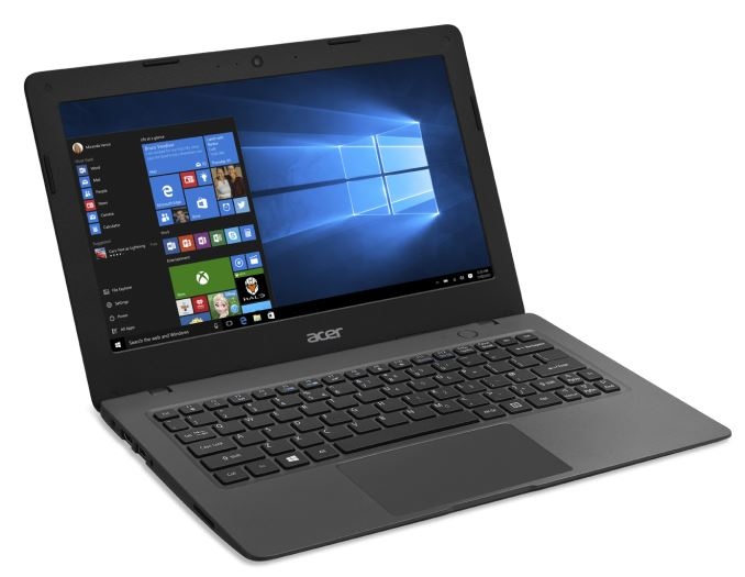 Aspire One Cloudbook AO1-131_right facing_Win10_678x452