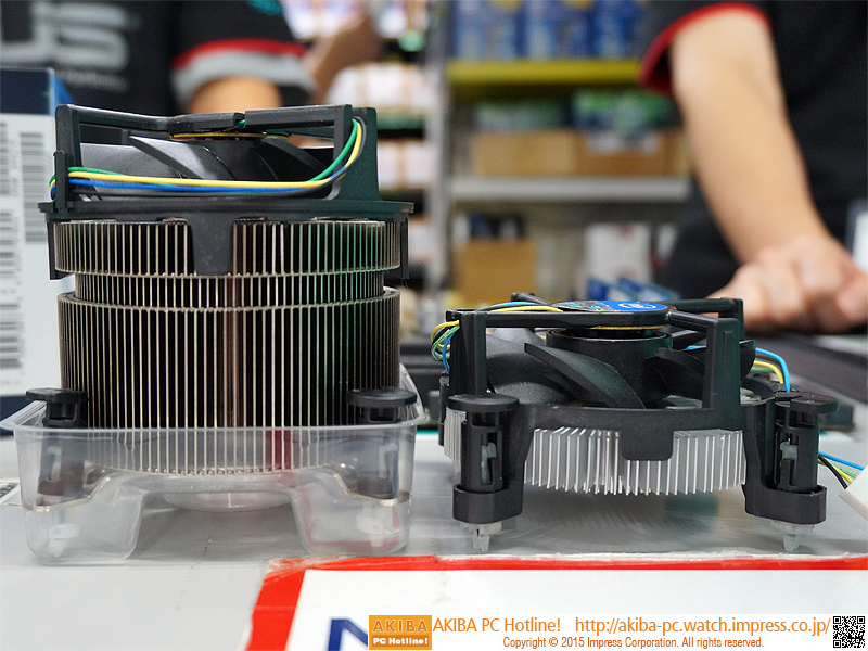 Photo of TS15A, el disipador más avanzado de Intel