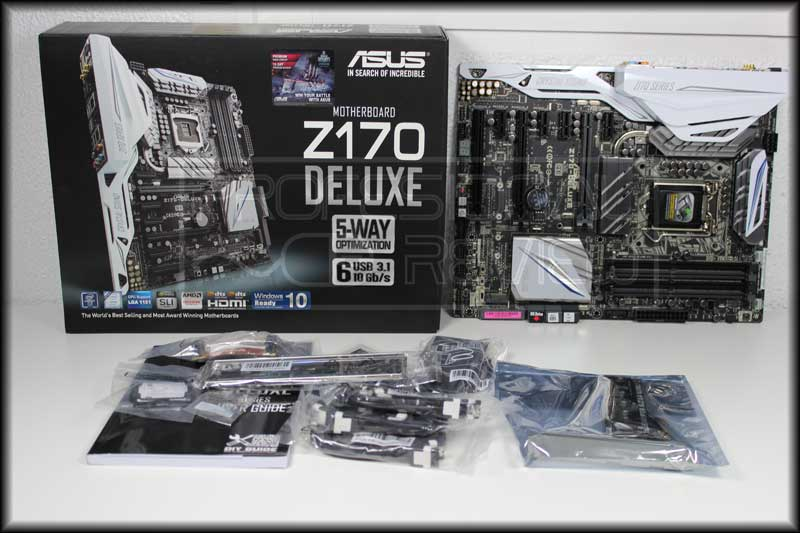 Photo of Asus Z170 Deluxe Review
