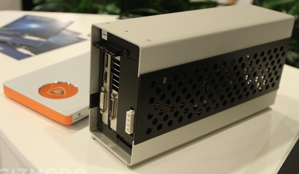 Photo of Mostradas tarjetas gráficas externas con interfaz Thunderbolt 3