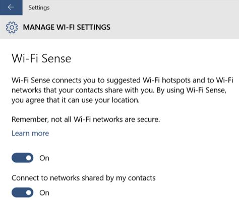 Photo of Como desactivar WiFi Sense en Windows 10