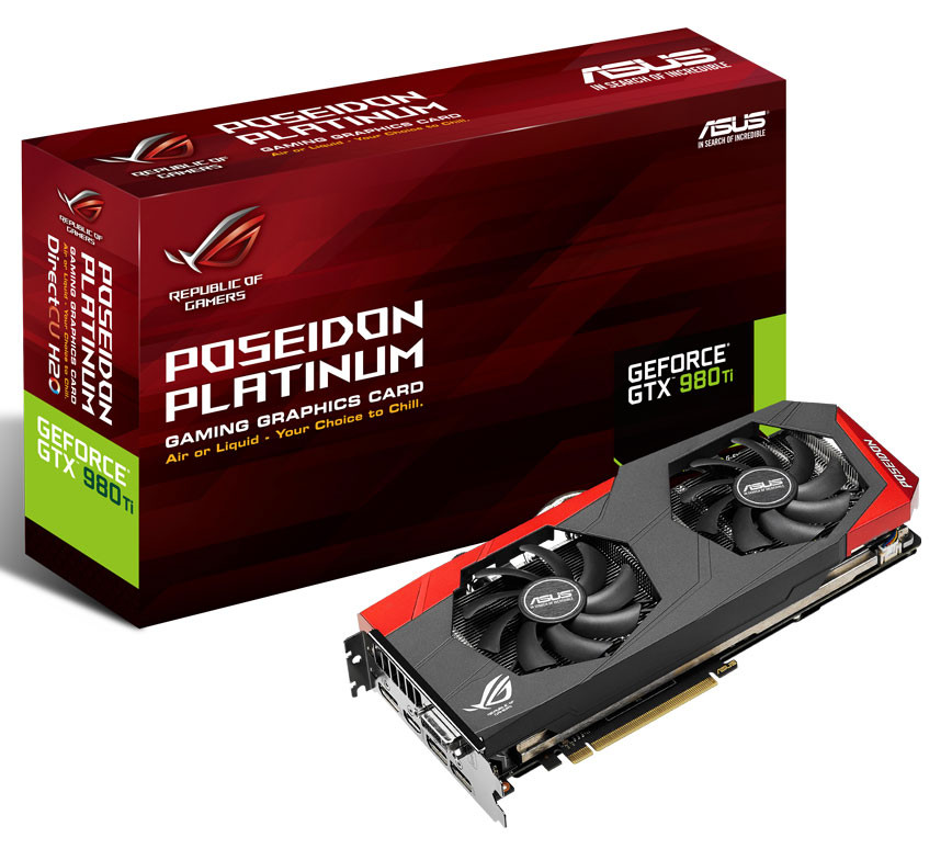 Photo of Asus GeForce GTX 980Ti Poseidon