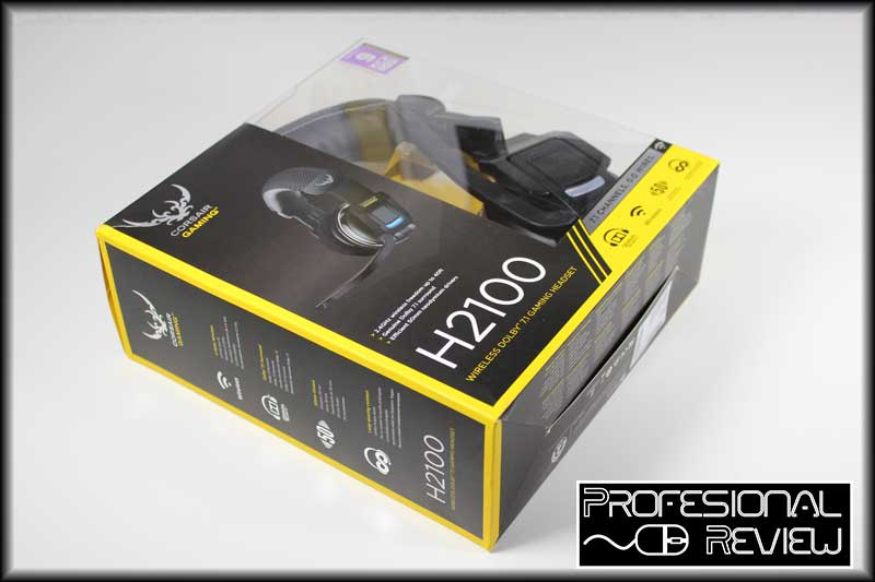 Photo of Corsair H2100 Wireless 7.1 Gaming Headset Review