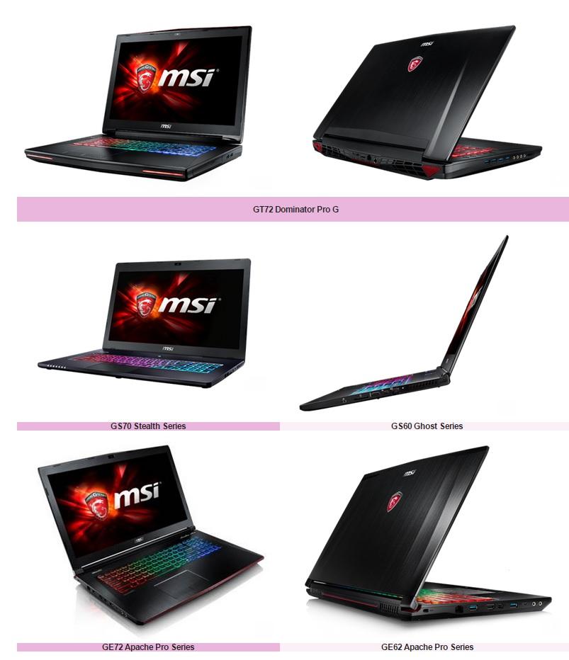 Photo of MSI Completa su gama de portatiles gaming MSI Skylake