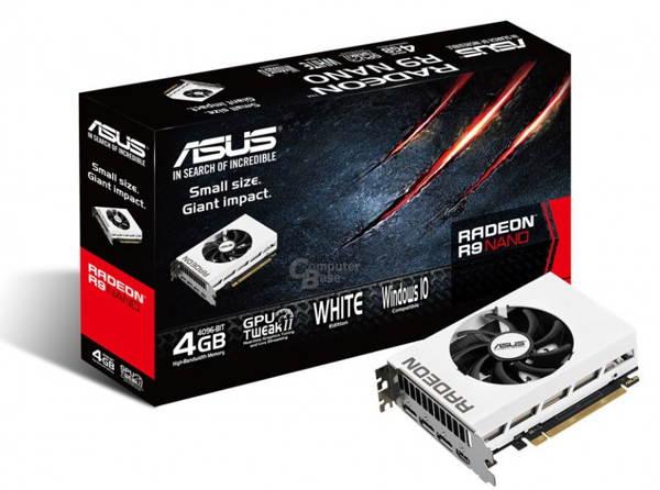 Photo of Asus prepara una AMD Radeon R9 Nano blanca