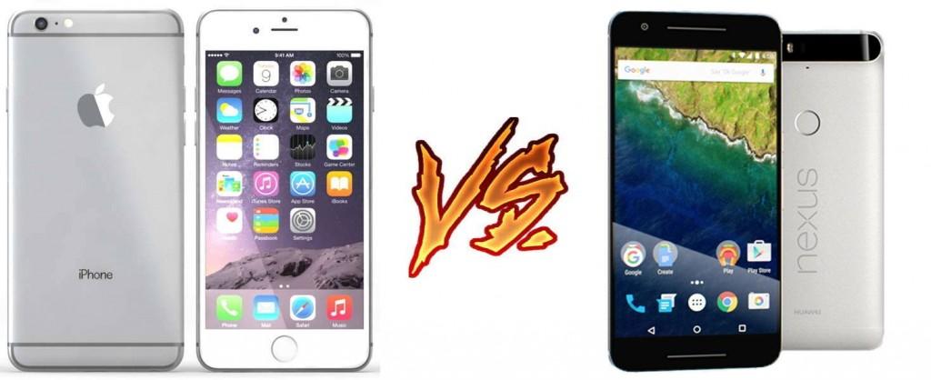 iphone 6s plus vs nexus 6p
